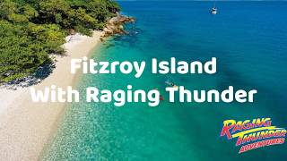Fitzroy Island is only 45 minutes from Cairns and is one of the most unspoilt islands on the Great Barrier Reef.