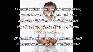 Andrea Bocelli e vui durmiti ancora
