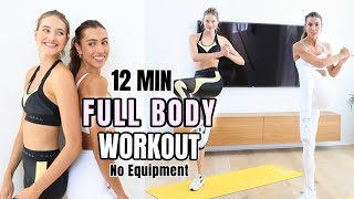 15 MIN Beginner Workout // Full Body Model Workouts // Sanne Vloet @Sami Clarke