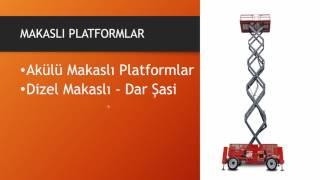Makaslı Platform Kiralama - TT Vinç