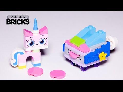 Vidéo LEGO Unikitty 30406 : Unikitty Roller Coaster Wagon (Polybag)