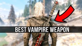 Skyrim But this Sword will make you want to Replay Skyrim with a Vampire Build!