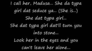 Chris Brown Madusa [Lyrics on Screen]