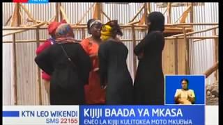 Baadhi ya waathiriwa na wamiliki wa nyumba wameanza ujenzi wa nyumba mpya katika mtaa wa Kijiji