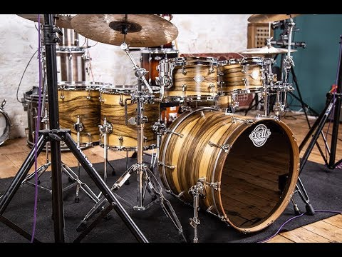 Evetts Drums Spotted Gum Shell Pack & Matching Snare Drum – Drummer's Review