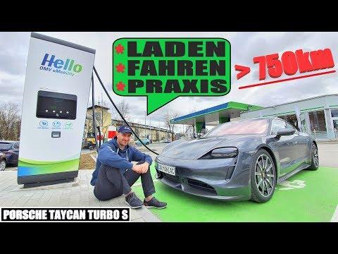 Porsche Taycan Turbo S - Sinnloses Überauto ODER super Allrounder?