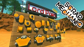 ( Scrap Mechanic ) LordPain's Mods: Modular Engine Parts by Lord Pain