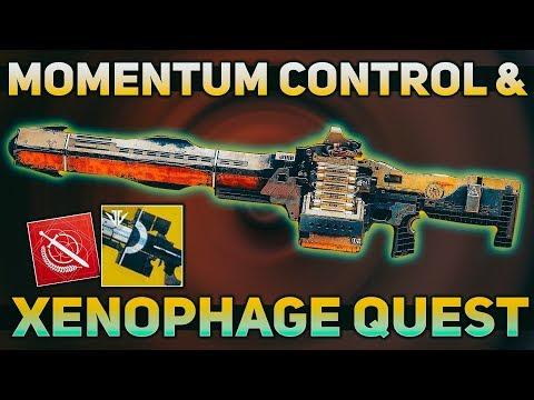 Xenophage Quest, Momentum Control, & Izanagi's Burden Quest Bug/Fix | Destiny 2 News
