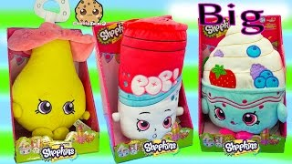Donut Build A Bear Plush + Big Jumbo Shopkins Season 1 & 2 Plushies Like Baby Dum Mee