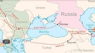 BLACK SEA & CASPIAN SEA (काला सागर और कैस्पियन सागर ) MAP FULL ANALYSIS LESSON #06