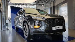 2019 Hyundai Santa Fe Exterior&Interior Walk-around Tour