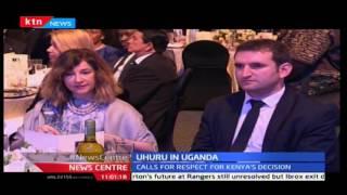 News Centre 21st November 2016 - President Uhuru attends annual Diplomatic forum in Uganda
