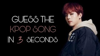 GUESS THE KPOP SONG IN 3 SECONDS | VERY HARD