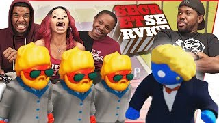 PROTECT THE PRESIDENT CHALLENGE! DON'T LET SLUMP DIE! - Gang Beasts Gameplay
