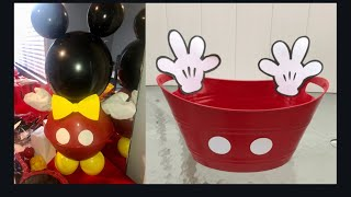 DIY Mickey Mouse Party Ideas