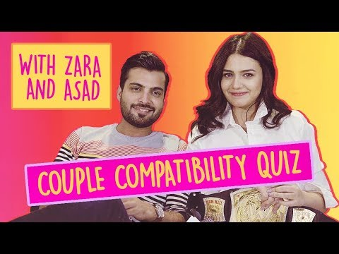 Couple Compatibility Quiz With Zara Noor Abbas And Asad Siddiqui | ShowSha