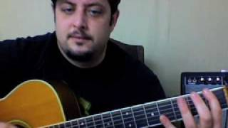 Acoustic Guitar Lesson - Jack Johnson - Taylor super simple song