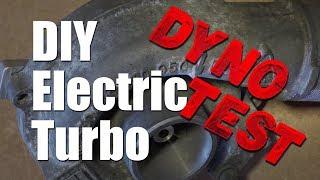 DIY Electric Turbo On The Dyno!