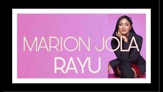 MARION JOLA   RAYU [Lirik]