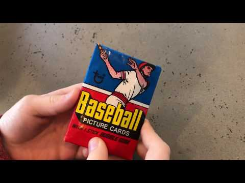 1977 Topps Pack Opening SPECIAL GUEST APPEARANCE BY Vintage Wax Packs!