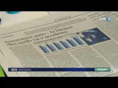 12/13 France 3 – 05/08/2010 – Hausse des tarifs assurance auto