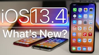 IOS 13.4 Is Out! - Whats New?