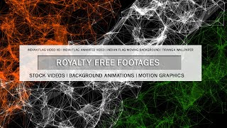 Indian flag animation video | Indian flag hd background video, Indian flag motion graphics #15August