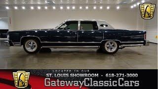 1978 Lincoln Town Car - Gateway Classic Cars St. Louis - #6550