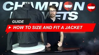 How to Size and Fit a Motorcycle Jacket Guide - ChampionHelmets.com
