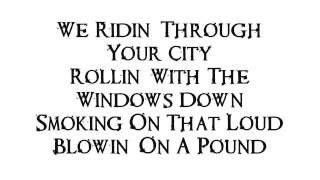 King Lil G  Windows Down Ft Young Drummer Boy With Lyrics On ScreenAK47 Boyz Mixtape 2014