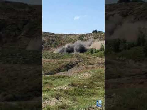 Bomba  ritovata a Borgotaro e fatta brillare a Rubbiano di Solignano (Pr)