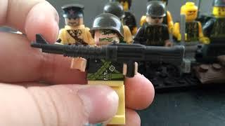 Лего самоделка солдаты