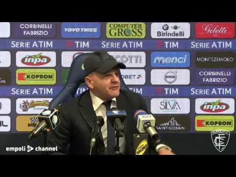 Preview video Le parole di mister Iachini alla vigilia di Empoli-Inter