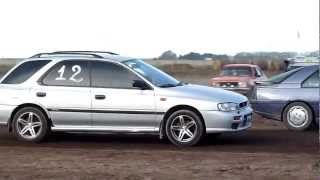 preview picture of video 'Subaru Impreza vs Renault Fuego 402m tierra'