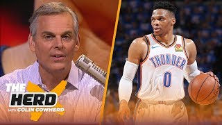 Russell Westbrook isn't built for the playoffs & his handling of media reflects it | NBA | THE HERD