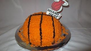 Heat Basketball Cake