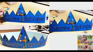How To Make Birthday Crown