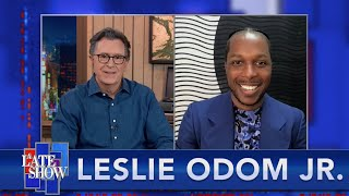 Leslie Odom Jr. On Parenting In Lockdown, Playing Sam Cooke, And That Nationwide Commercial thumbnail