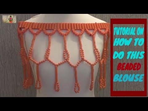 Edo Bridal blouse Tutorial part 2