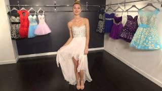 Empire Waist Chiffon Prom Dress 78016 | Jovani