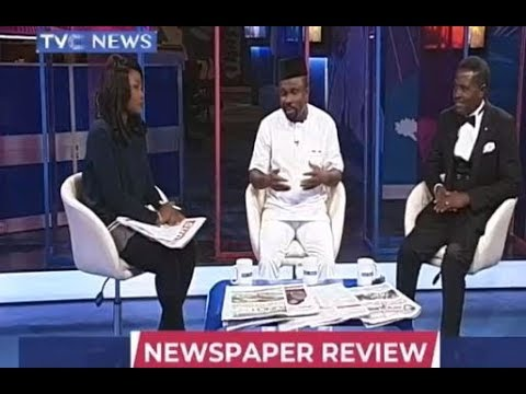 Newspaper Review with Dr Dan Ekere and Jide Ologun