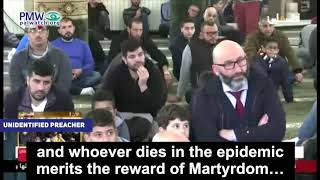 "Video: Palestinský kazatel nazval koronavirus ""Alláhovým vojákem"""