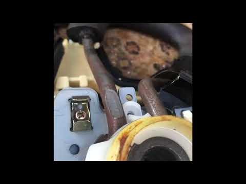 NISSAN PULSAR N14 Steering Wheel removal part 1