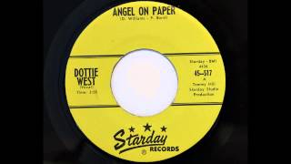 Dottie West - Angel On Paper (Starday 517) [1960, her first]