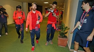 BEHIND THE SCENES - FC Barcelona, to Qatar and back with a friendly in between