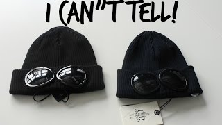 I CAN'T TELL if this CP COMPANY BEANIE HAT IS FAKE