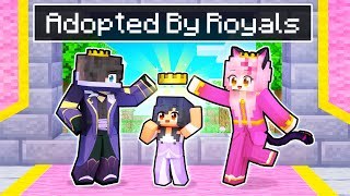 Adopted By ROYALS In Minecraft!