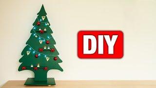 DIY - Tannenbaum aus Holz bauen ???? | Einfach und günstig