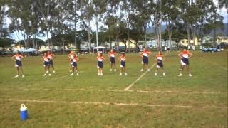 preview picture of video 'Ewa Beach Crush Cheerleaders at Waipio.'