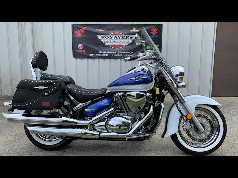2012 Suzuki Boulevard C50T in Greenville, North Carolina - Video 1